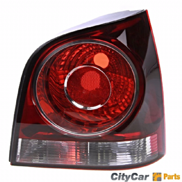 NEW VW POLO 9N MODELS 2005 TO 09 DRIVER RIGHT SIDE REAR TAIL LIGHT LAMP CLUSTER RED AND CLEAR